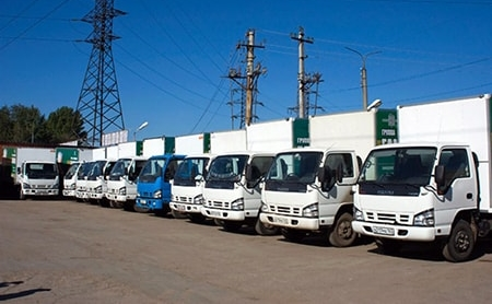 перевозки грузов по Санкт-Петербургу и ЛО